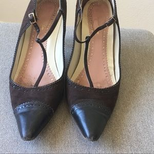 f8959c13294 Brooks Brothers Shoes - Brooks Brothers Leather Point-Toe Kitten-Heel Pump